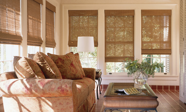 Woven Woods Woven Wood Shades Grass Cloth Shades